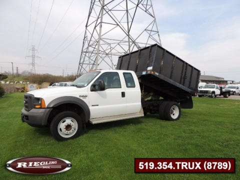 2005 Ford F450 Ext Super Duty Dump Truck