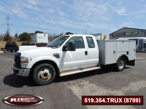 2008 Ford F350 XL SD EXT Low Body Utility
