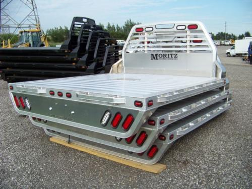 "2018 Moritz International Flatbed 8' X 8'6"" Aluminum"