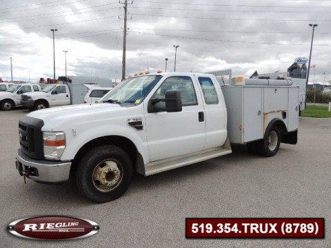 2008 Ford F350 Ext Cab Low Body Utility