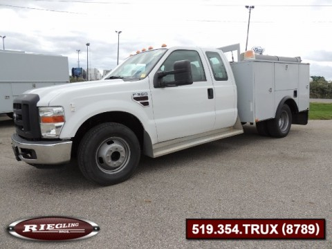 2008 Ford F350 XL Ext Cab Low Body Utility