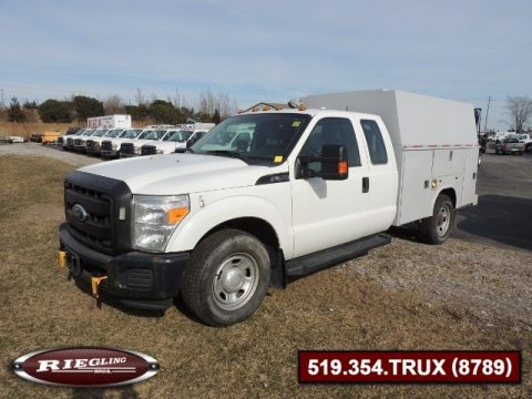 2011 Ford F350 Ext SD XL High Body Utility