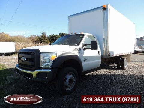 2013 Ford F550 Regular Cab XL Box Truck