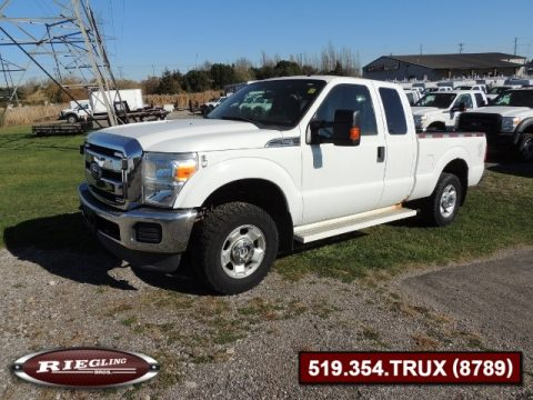 2012 Ford F250 XL Extended Cab Super Duty 4x4